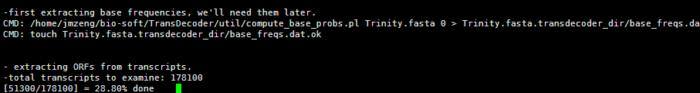 转录组-TransDecoder-对trinity结果进行注释