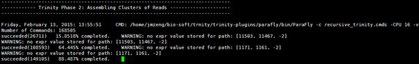 Trinity进行转录组组装的使用说明
