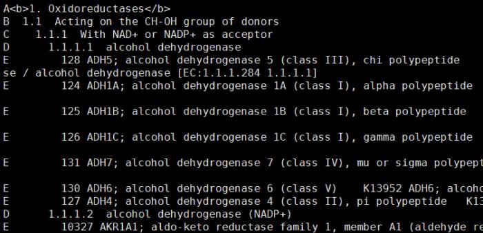 下载所有的酶的信息