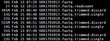 solexaQA对测序数据进行简单过滤